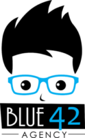 Blue42 Agency Logo I Stacked